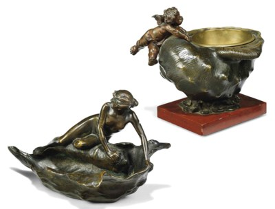 A FRENCH BRONZE