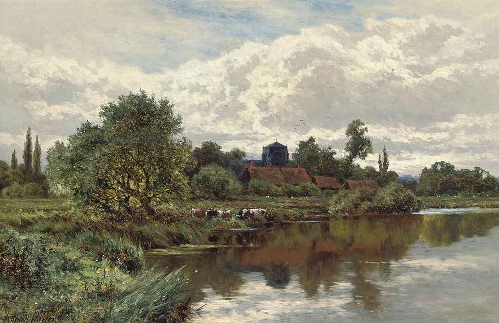 A stream near Shalford, Surrey