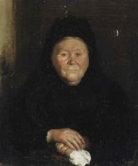 Portrait of a Woman in Black