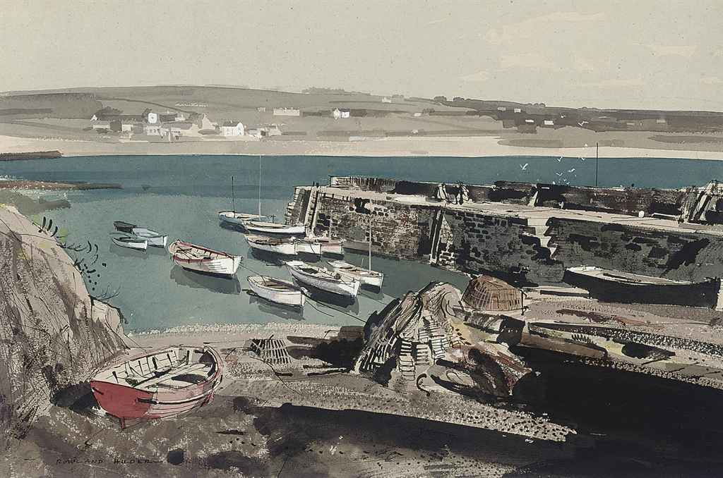 Coverack Harbour, Cornwall