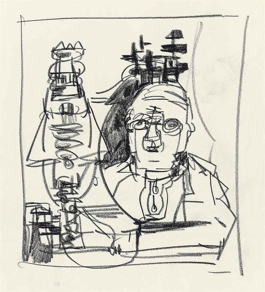 Sketch book of man and machine studies