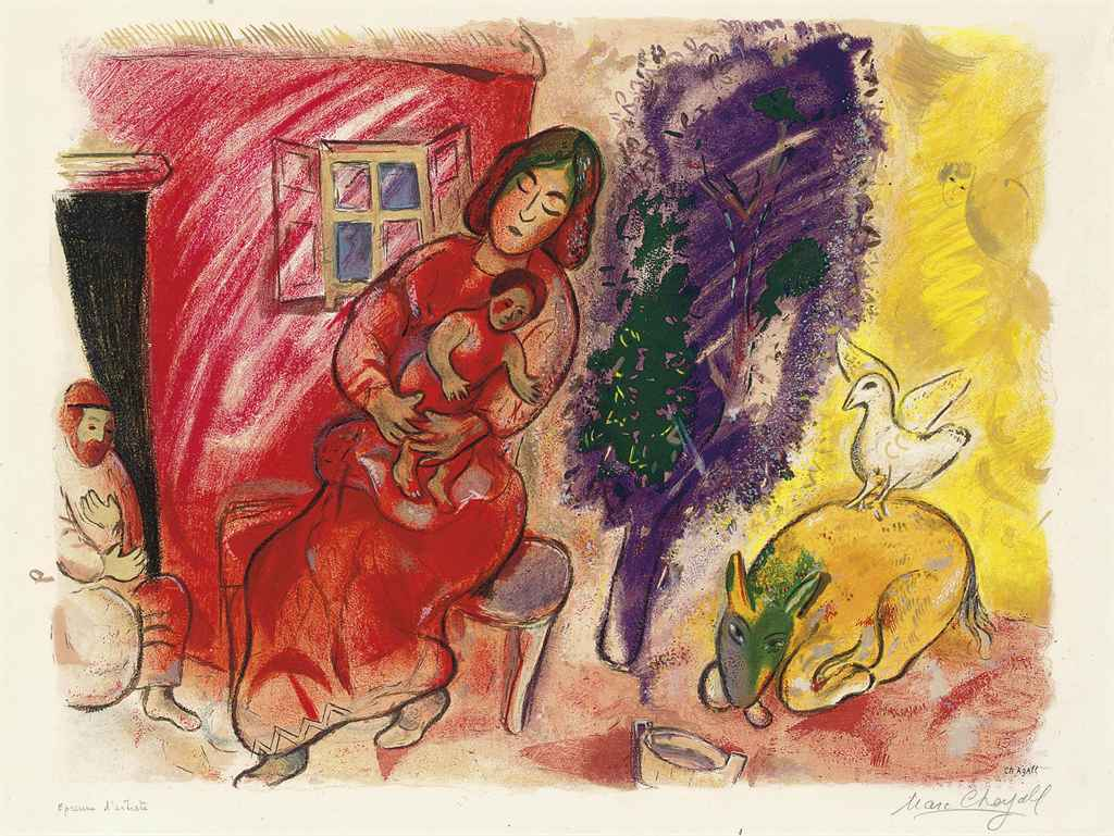 After Marc Chagall (1887-1985)