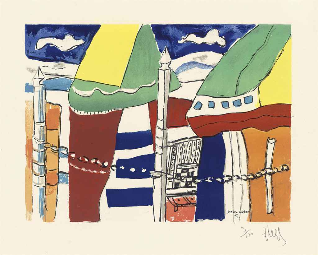After Fernand Leger (1881--195