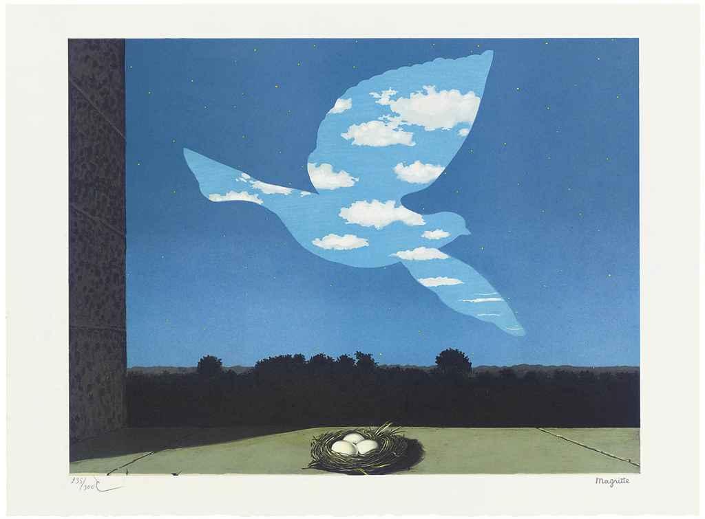 After Rene Magritte (1898-1976