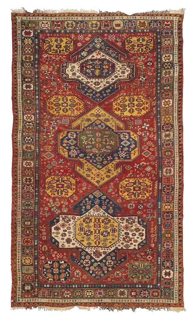 An atique Soumac carpet