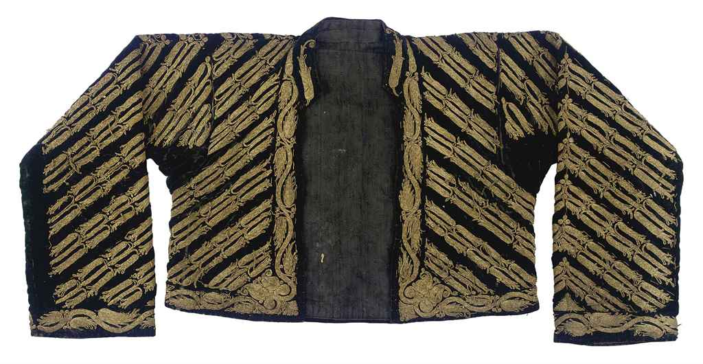 AN OTTOMAN EMBROIDERED JACKET
