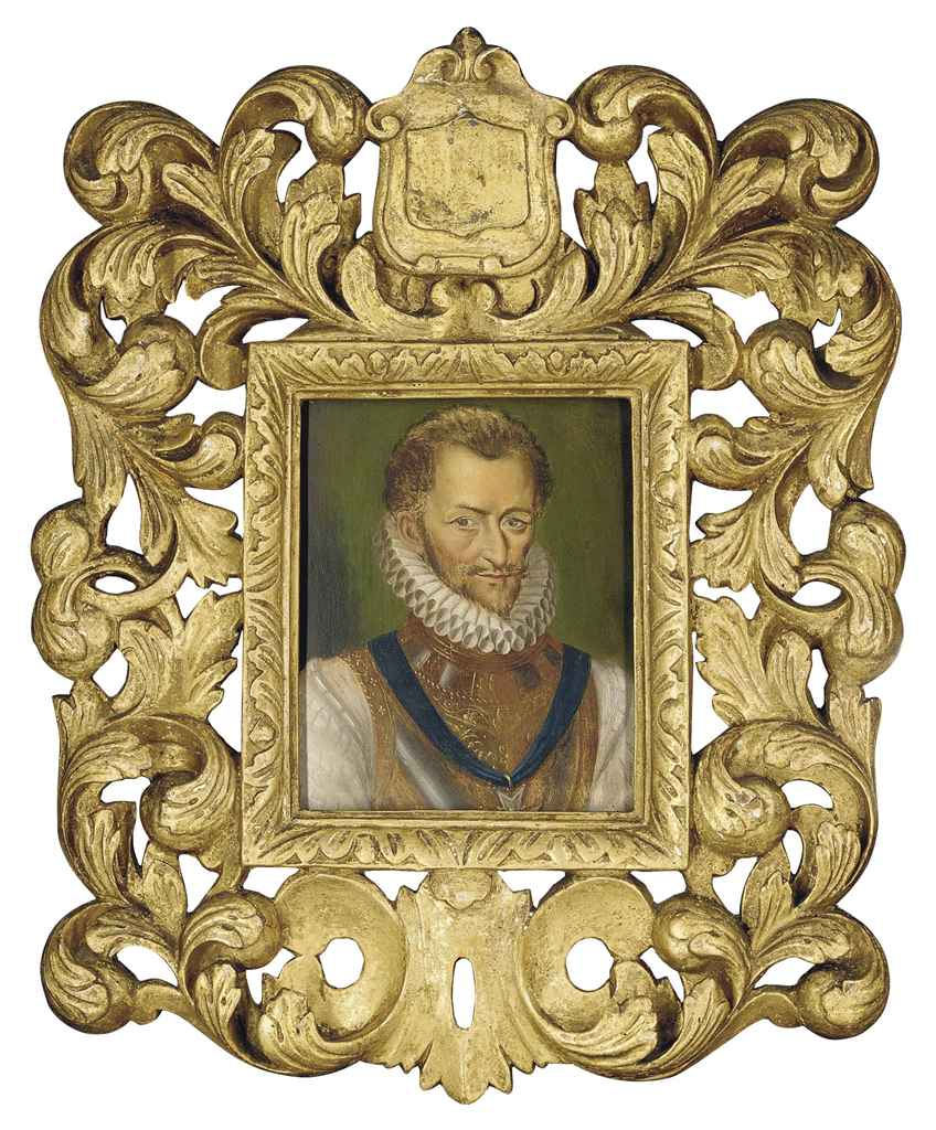 Portrait of a gentleman, half-length, traditionally identified as Henri de Lorraine, Duc de Guise, called Le Balafré (1550-1588), in armour