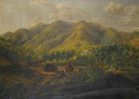 View of a plantation in the West Indies