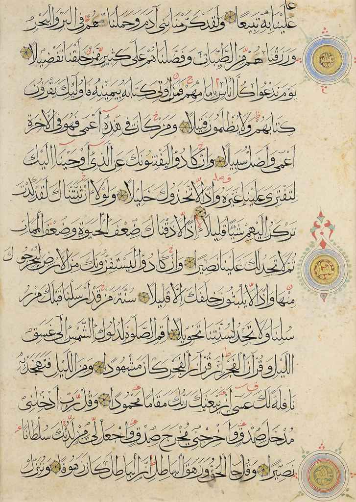 A STUDY GROUP OF QUR'AN FOLIOS