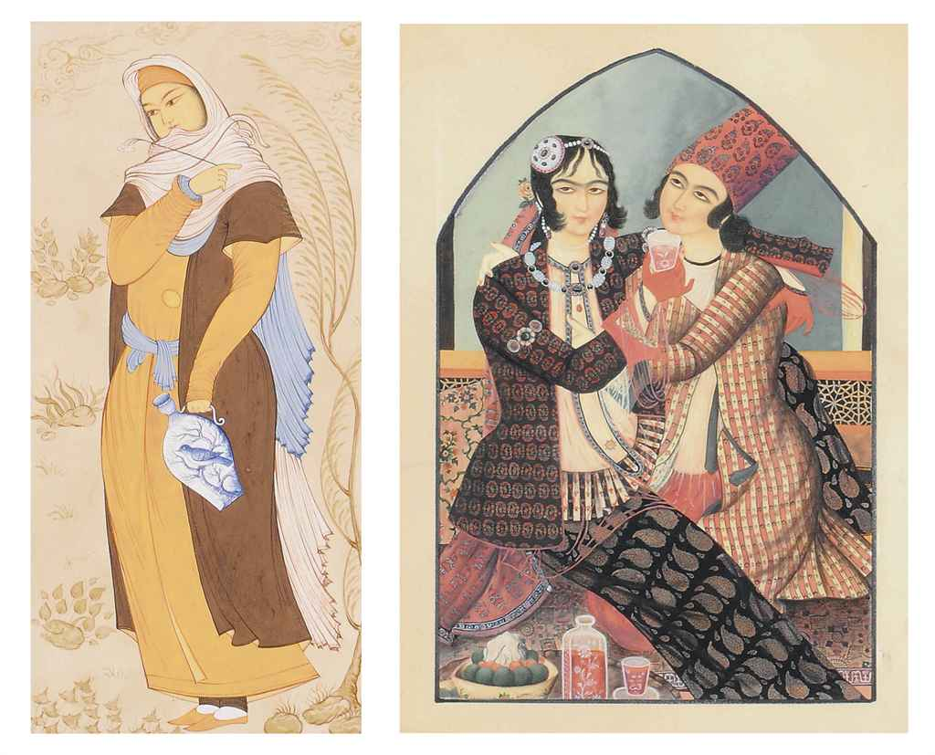 SEVEN SAFAVID AND QAJAR-STYLE
