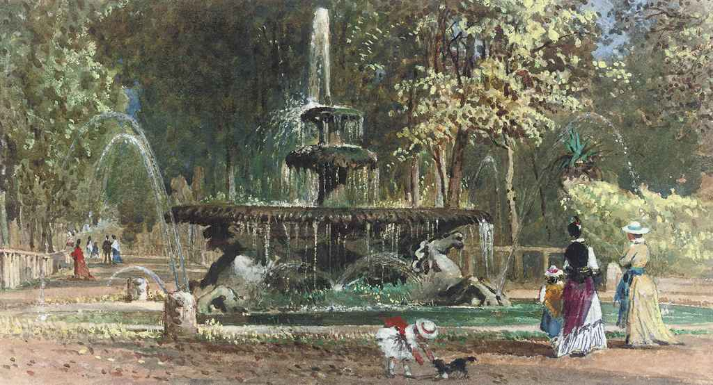Fontana di Cavelle, Villa Borghese, Rome