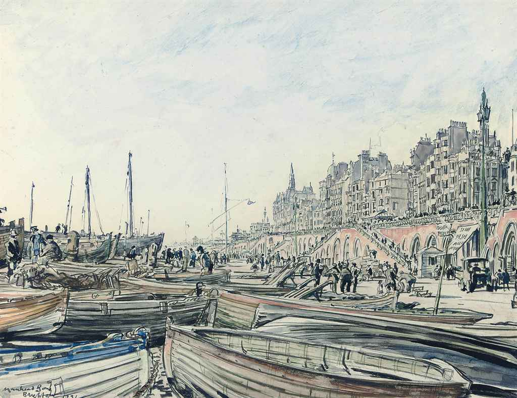 The Fish Market, Brighton (illustrated); and Brighton Pier