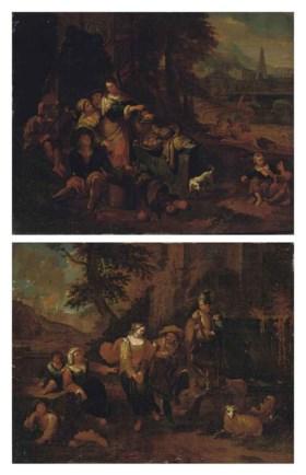 Attributed to Dirck Theodor Helmbreker (Haarlem 1633-1696 Ro
