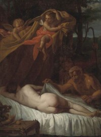 Venus surprised by satyrs