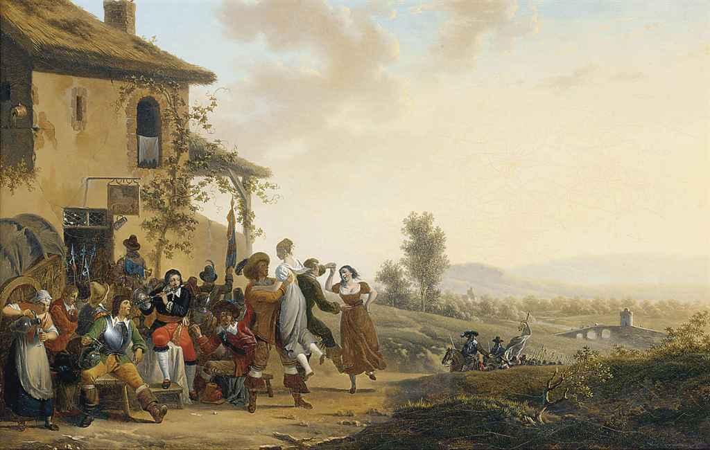 Merrymaking at the inn