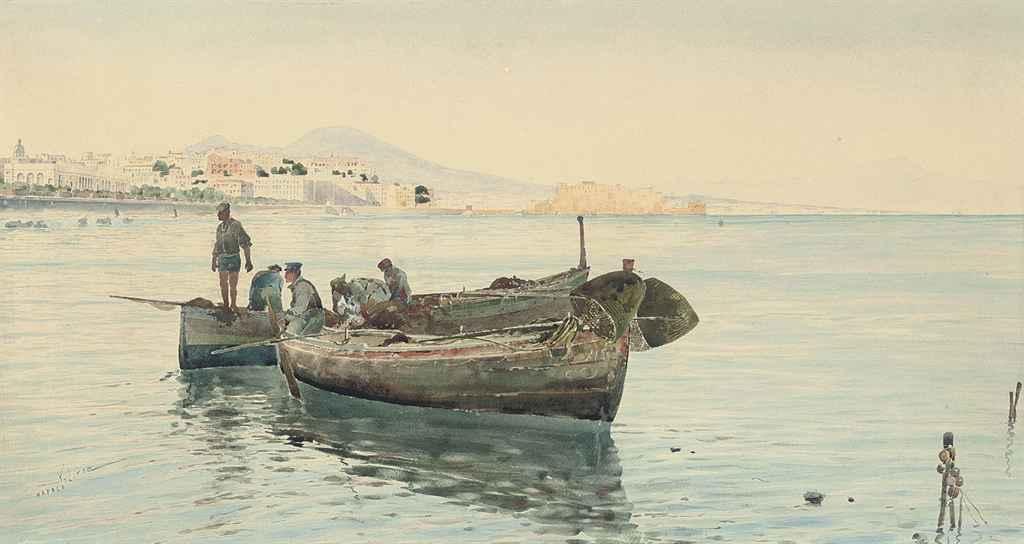 Fishermen on the Bay of Naples