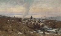 Shepherds in the Italian hills