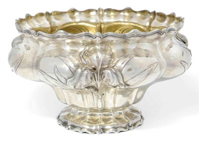 AN AMERICAN SILVER ROSE BOWL I