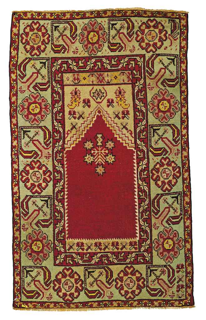 A Kula prayer rug & Pandorma p