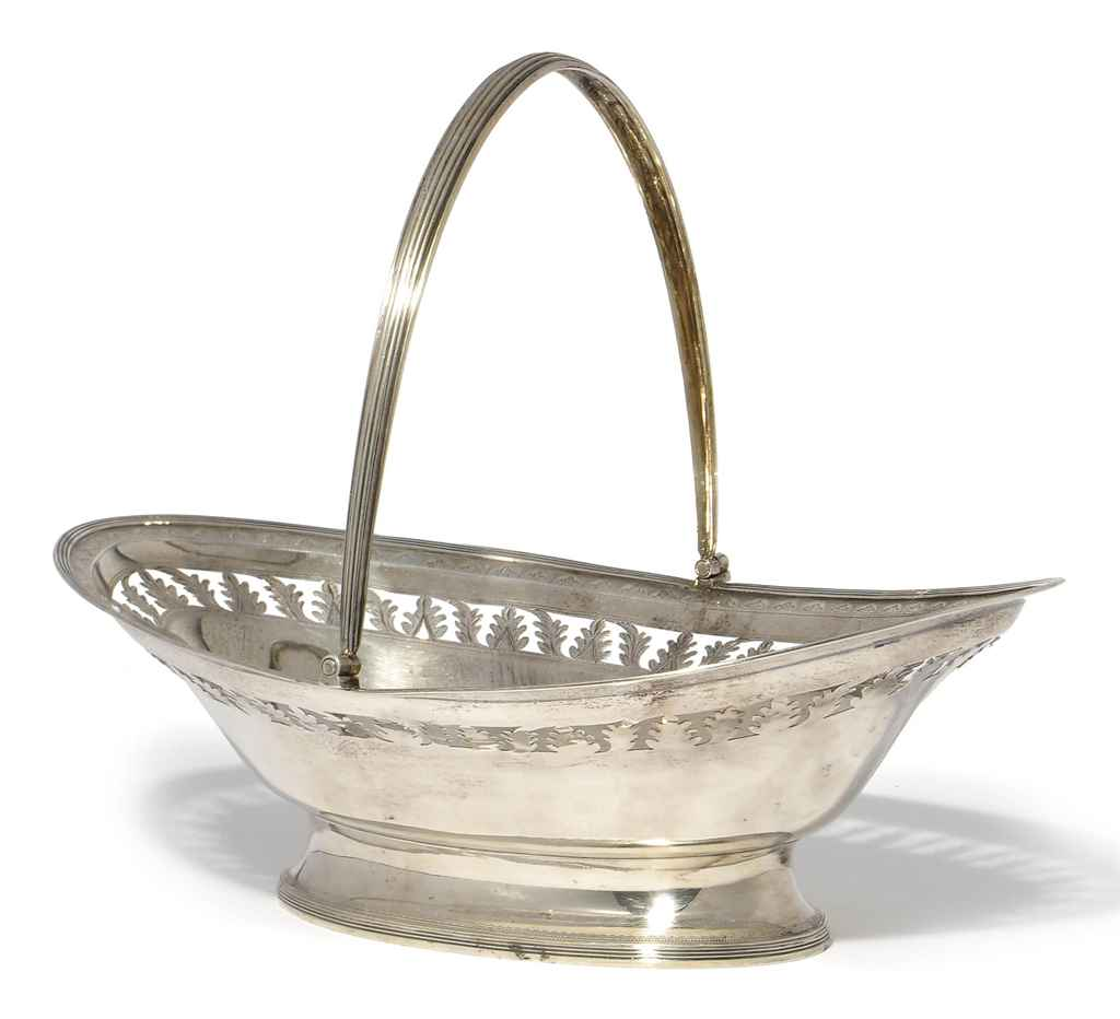 GEORGE III SILVER SWING-HANDLE