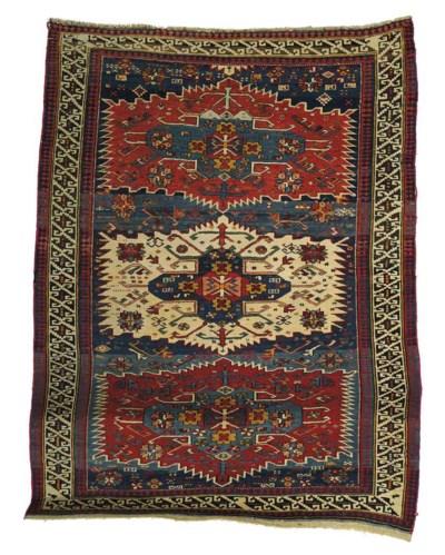 An antique Zajwa rug