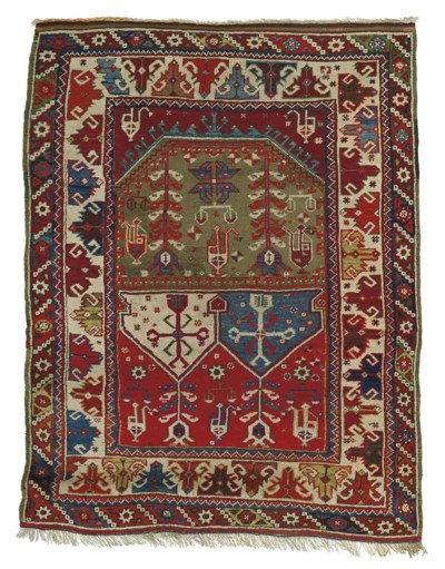 A Bargama prayer rug & Kirsehi