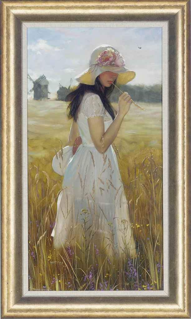 In the wheat fields