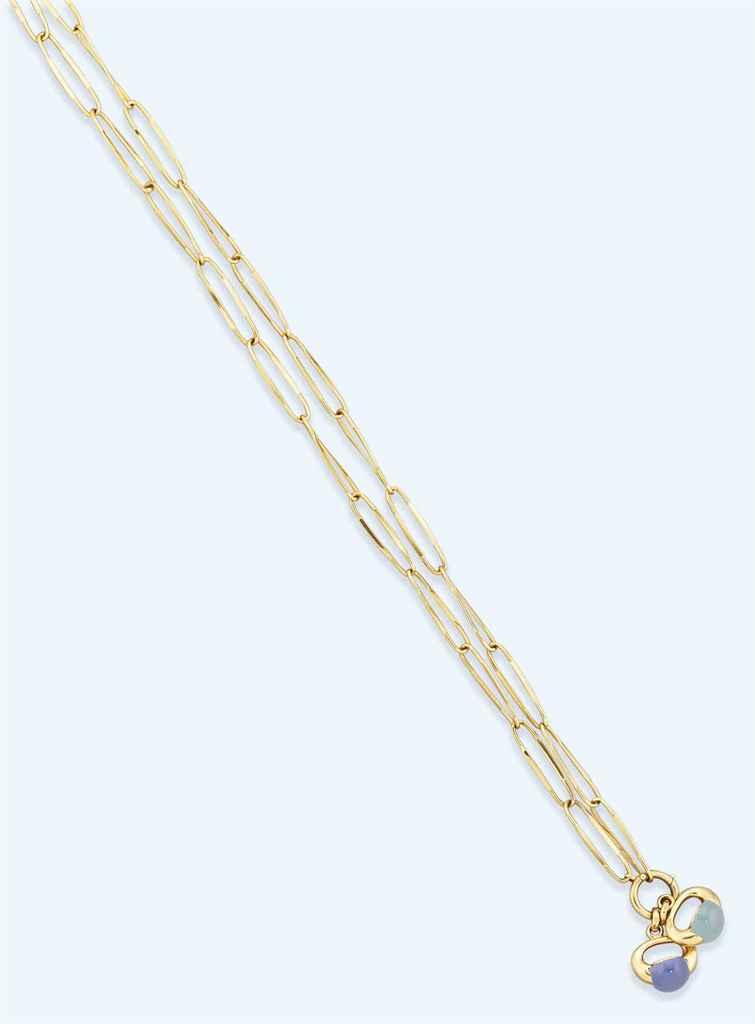 A gem-set necklace, by Pomellato