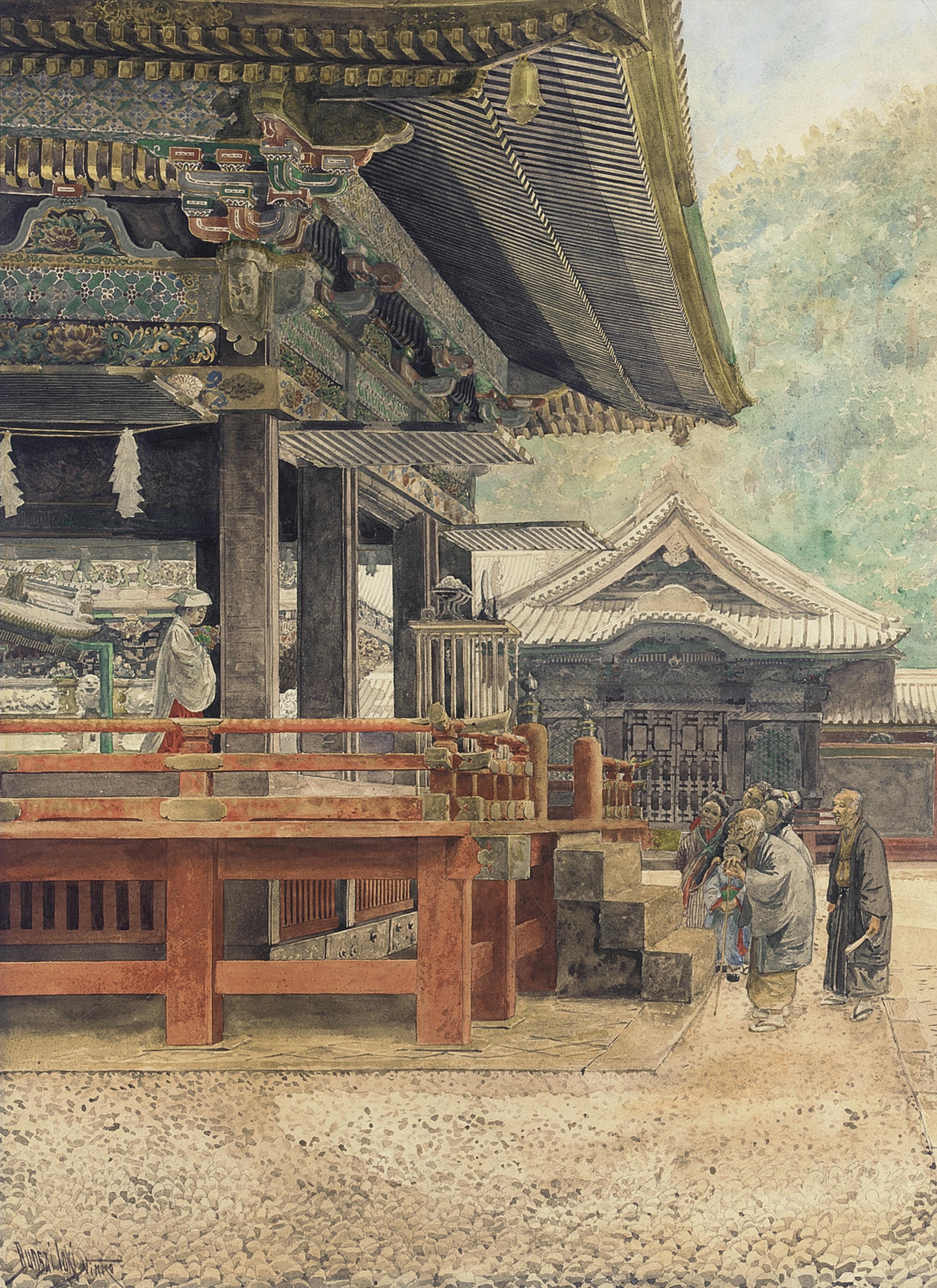 Bunsai Ioki (1863-1906)