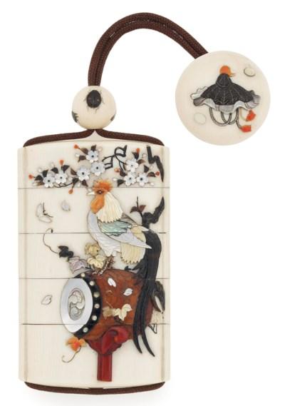 An Ivory Shibayama Inro