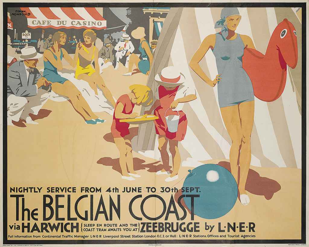 THE BELGIAN COAST