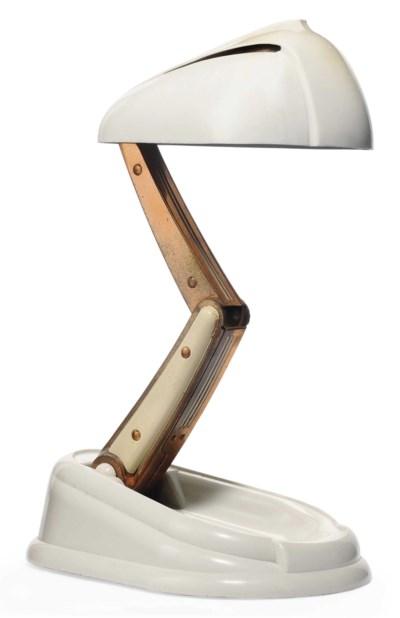 A JUMO CIE. 'BOLIDE' DESK LAMP
