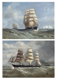 Rounding Cape Horn; and Micronesia outward-bound (both illustrated)