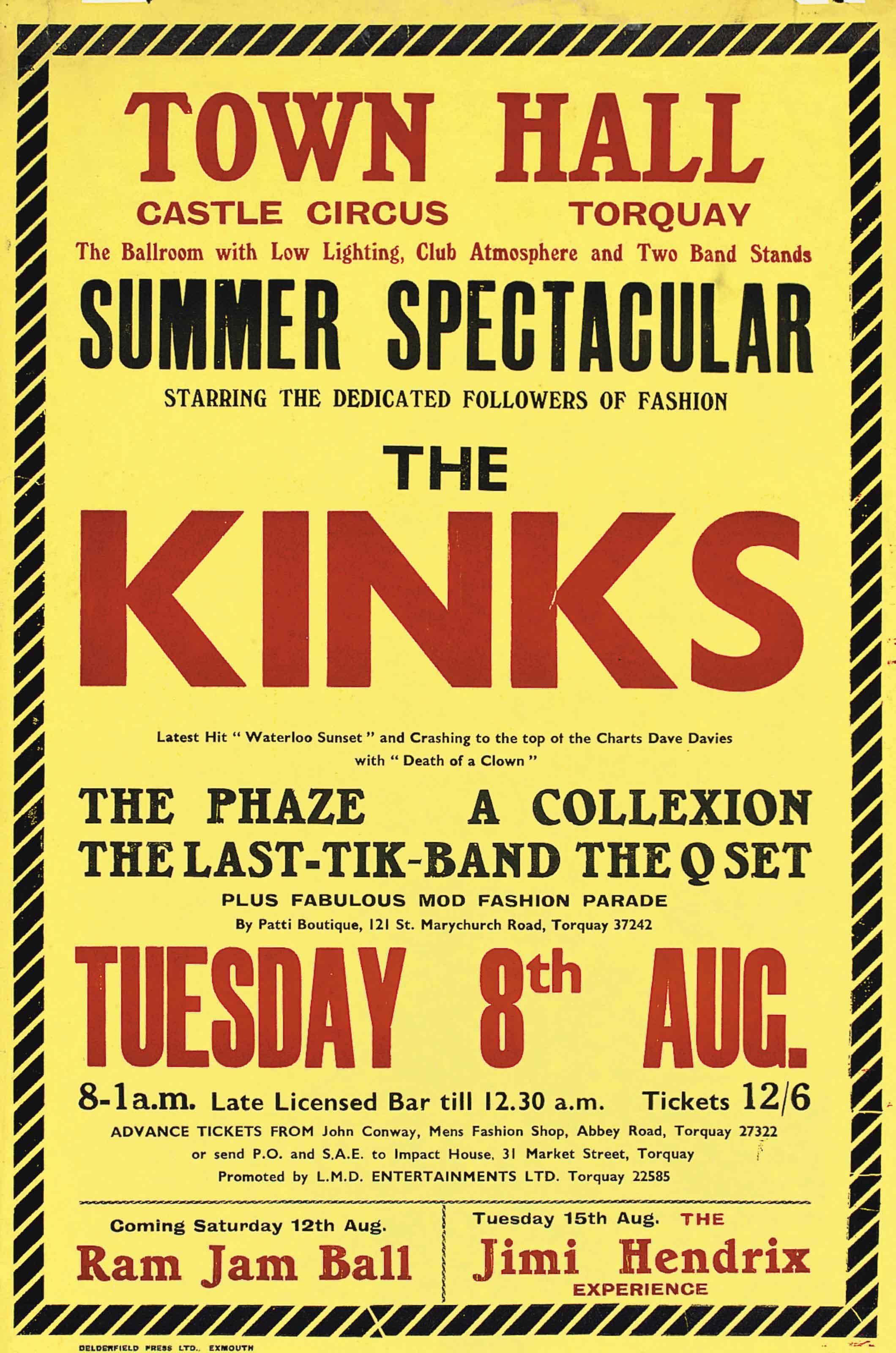 The Kinks  Jimi Hendrix