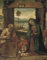 The Nativity with St. John the Baptist