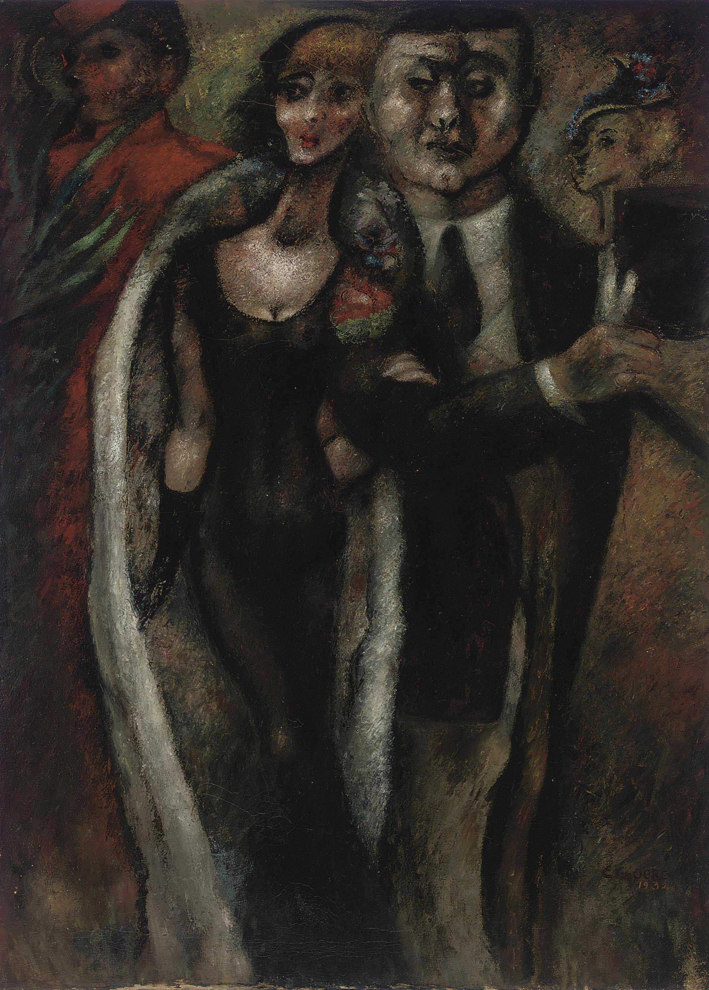 Portrait de Monsieur et Madame Goujon-Bouchon
