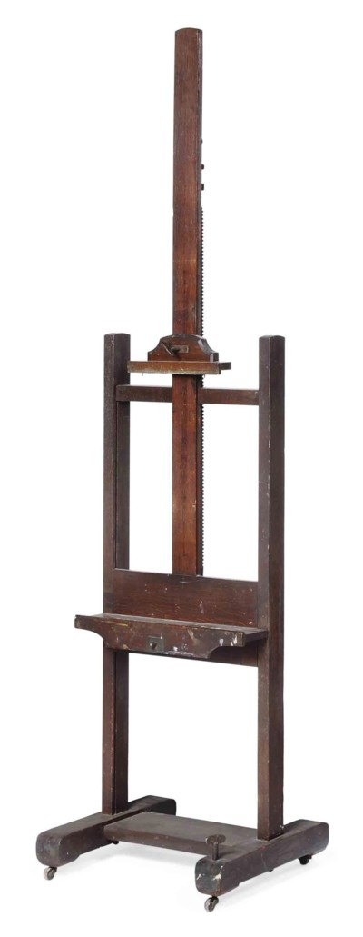 A LATE VICTORIAN STAINED OAK A
