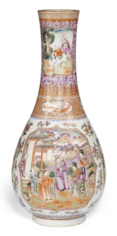 A CHINESE FAMILLE ROSE MANDARI