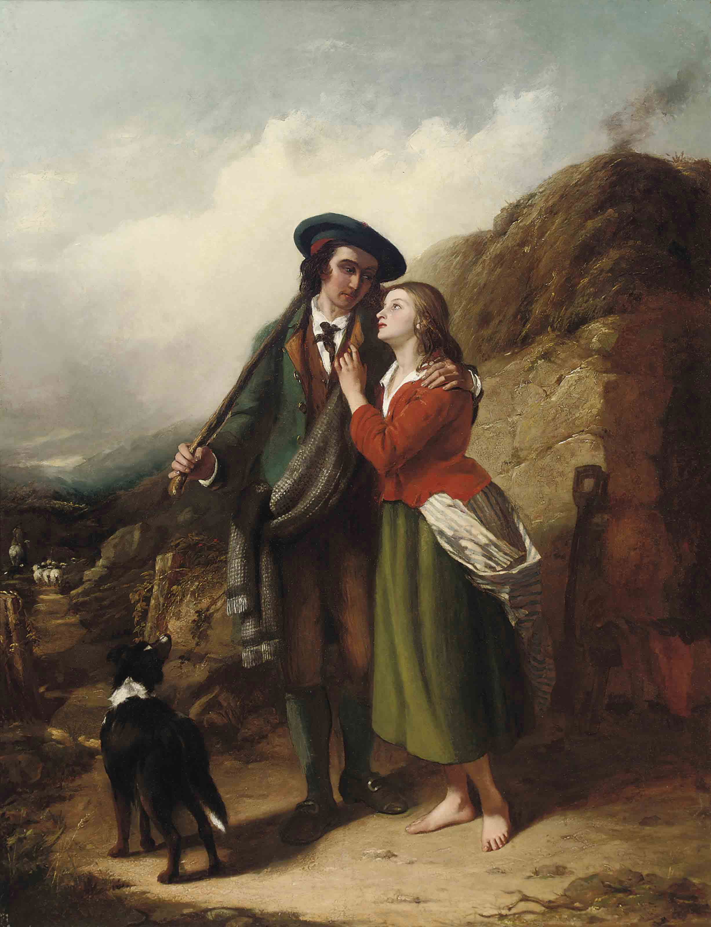 The shepherd's sweetheart
