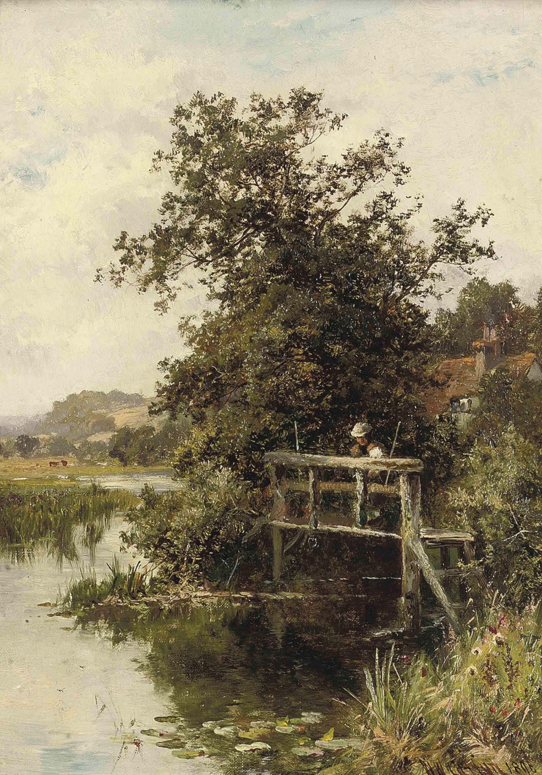 On the Thames near Streatley
