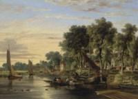 On the river Yare near Thorpe church