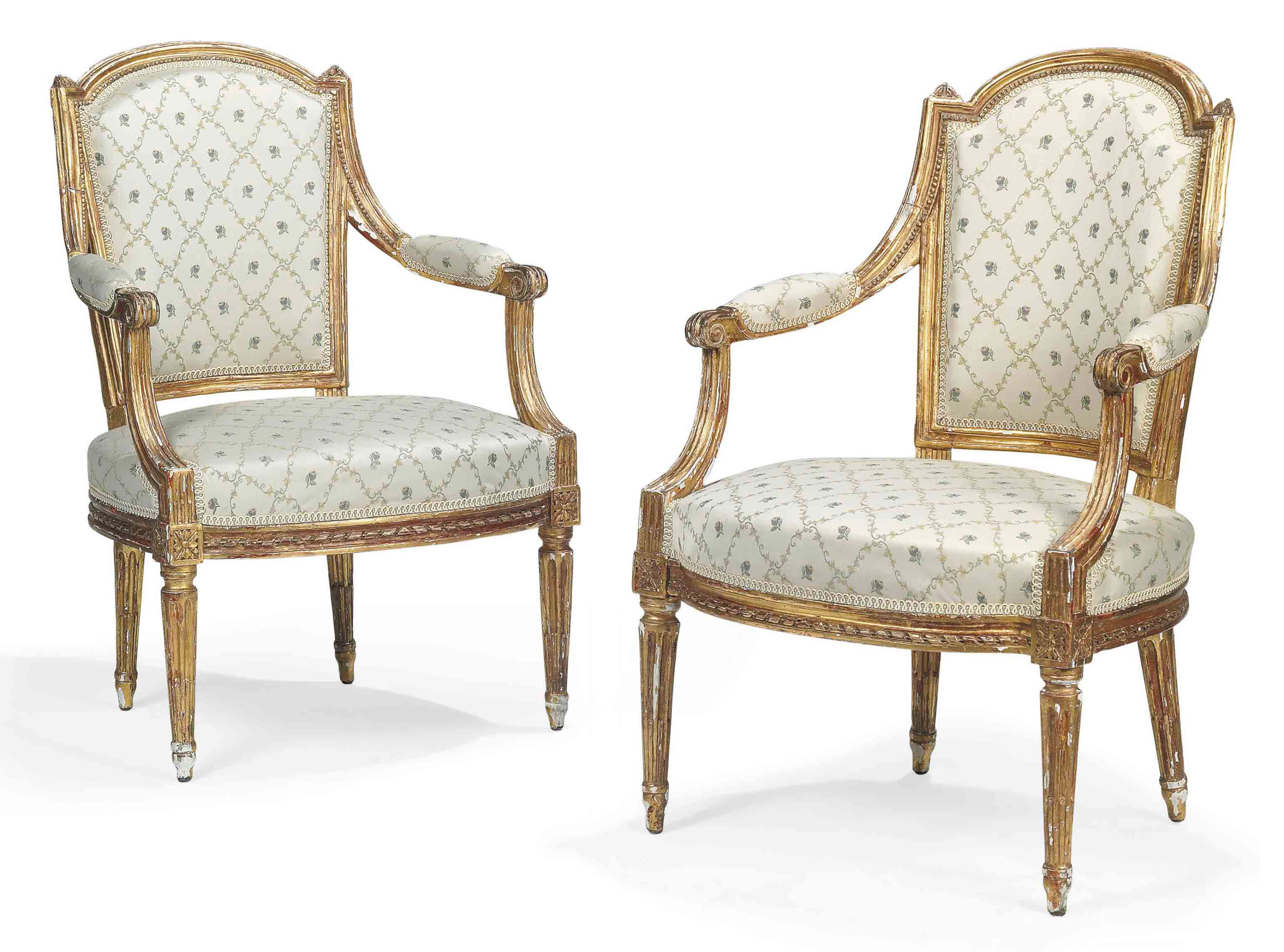 A MATCHED PAIR OF LOUIS XVI GI