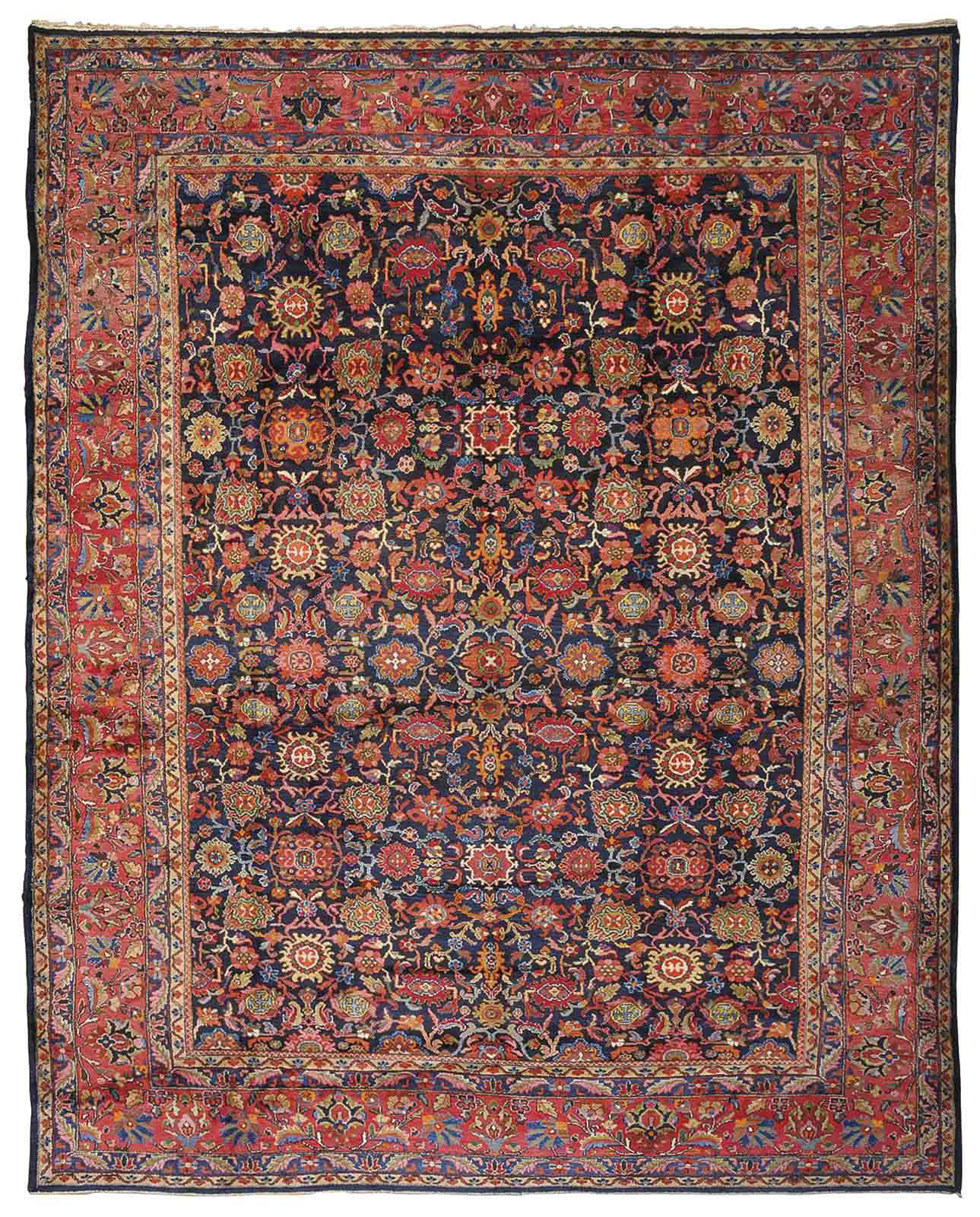 A SENNEH-MALAYIR CARPET, WEST