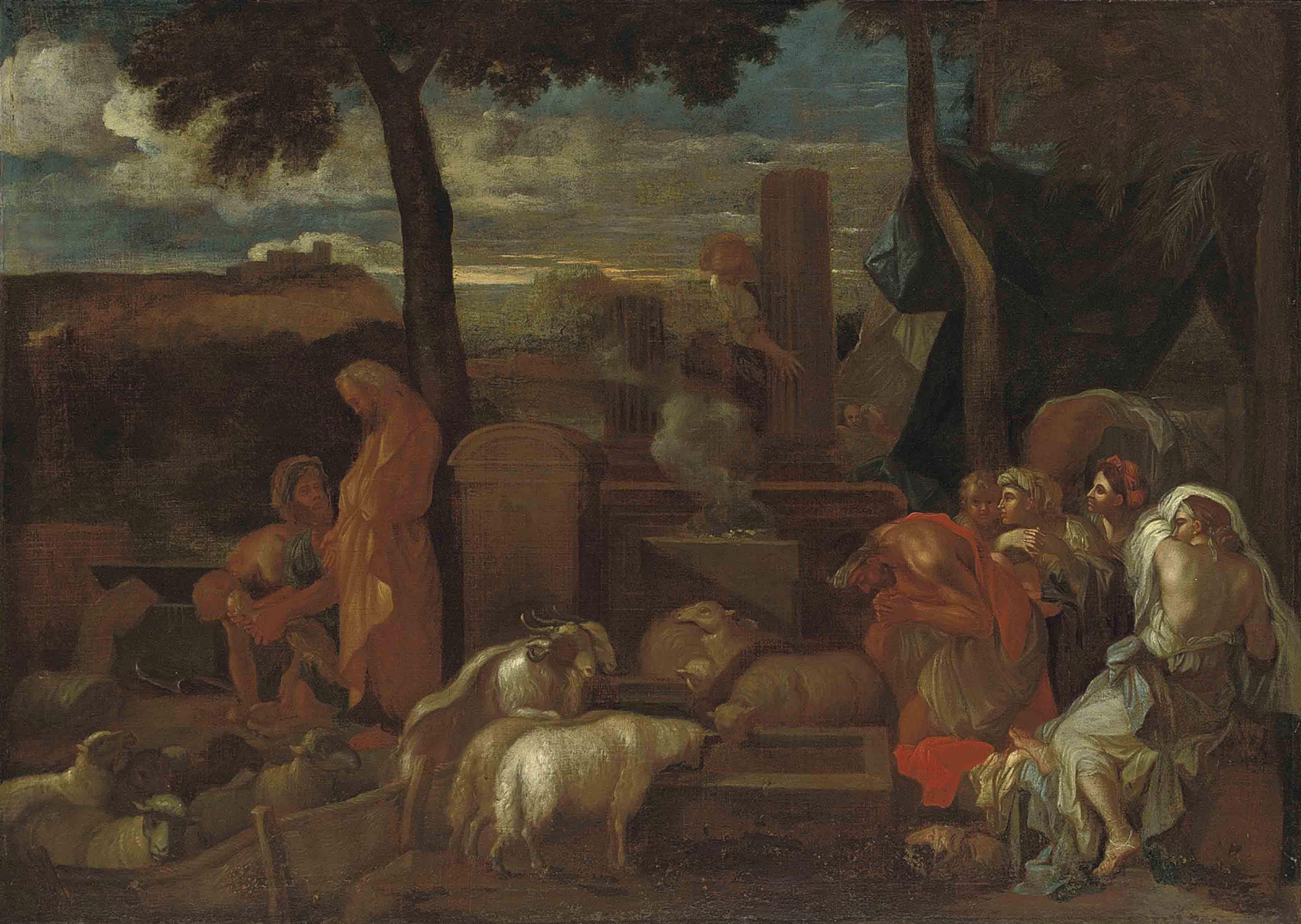 A Pagan sacrifice