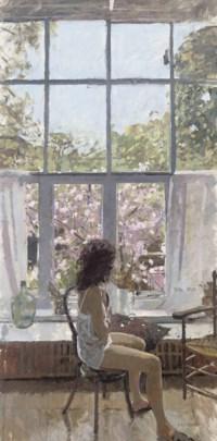Nude in My Studio by Ken Howard | BADA