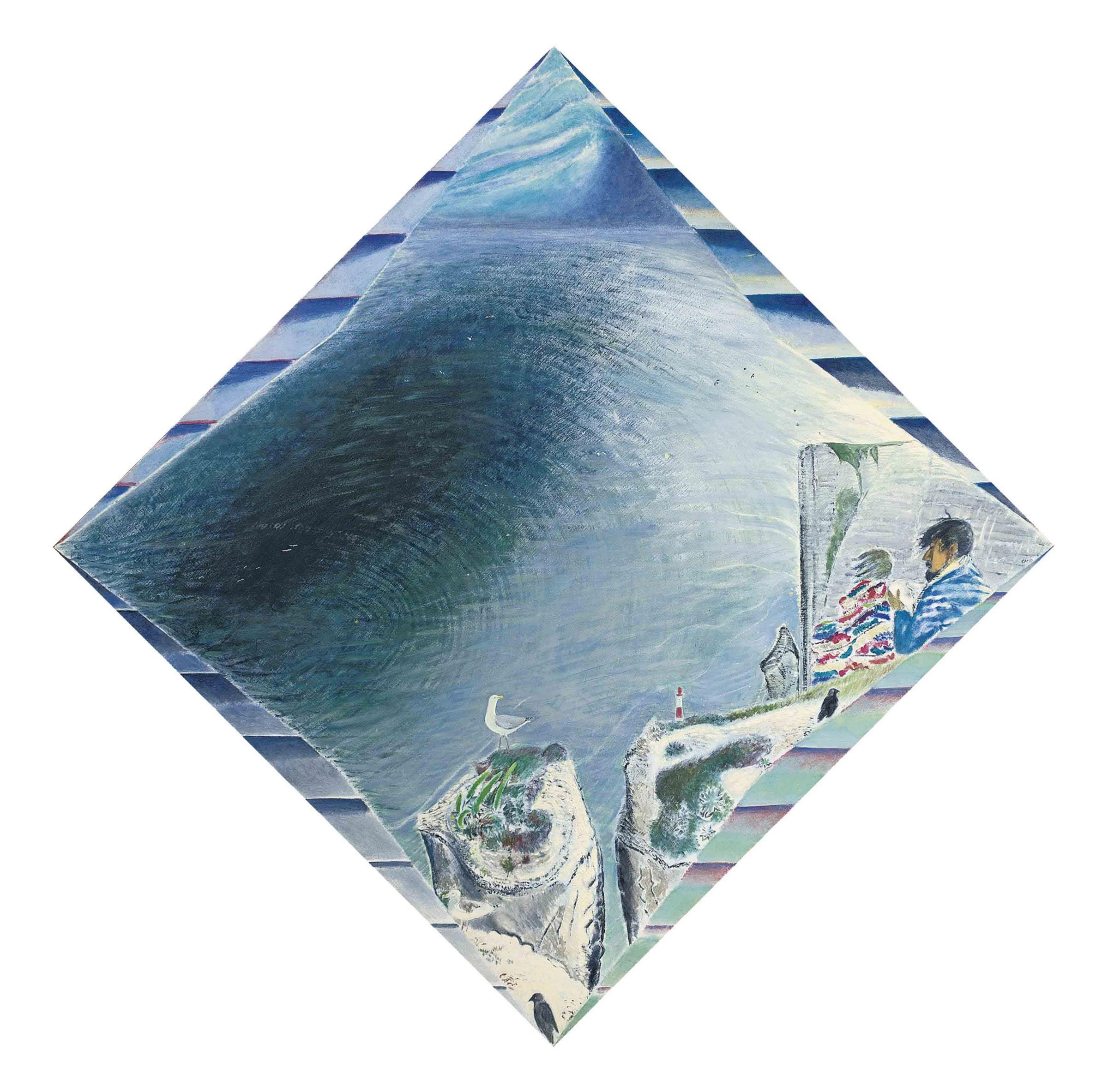 Beachy Head: Gull over Chasm