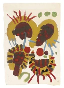 Bonhams : Roger Hilton (British, 1911-1975) Abstract 30 x