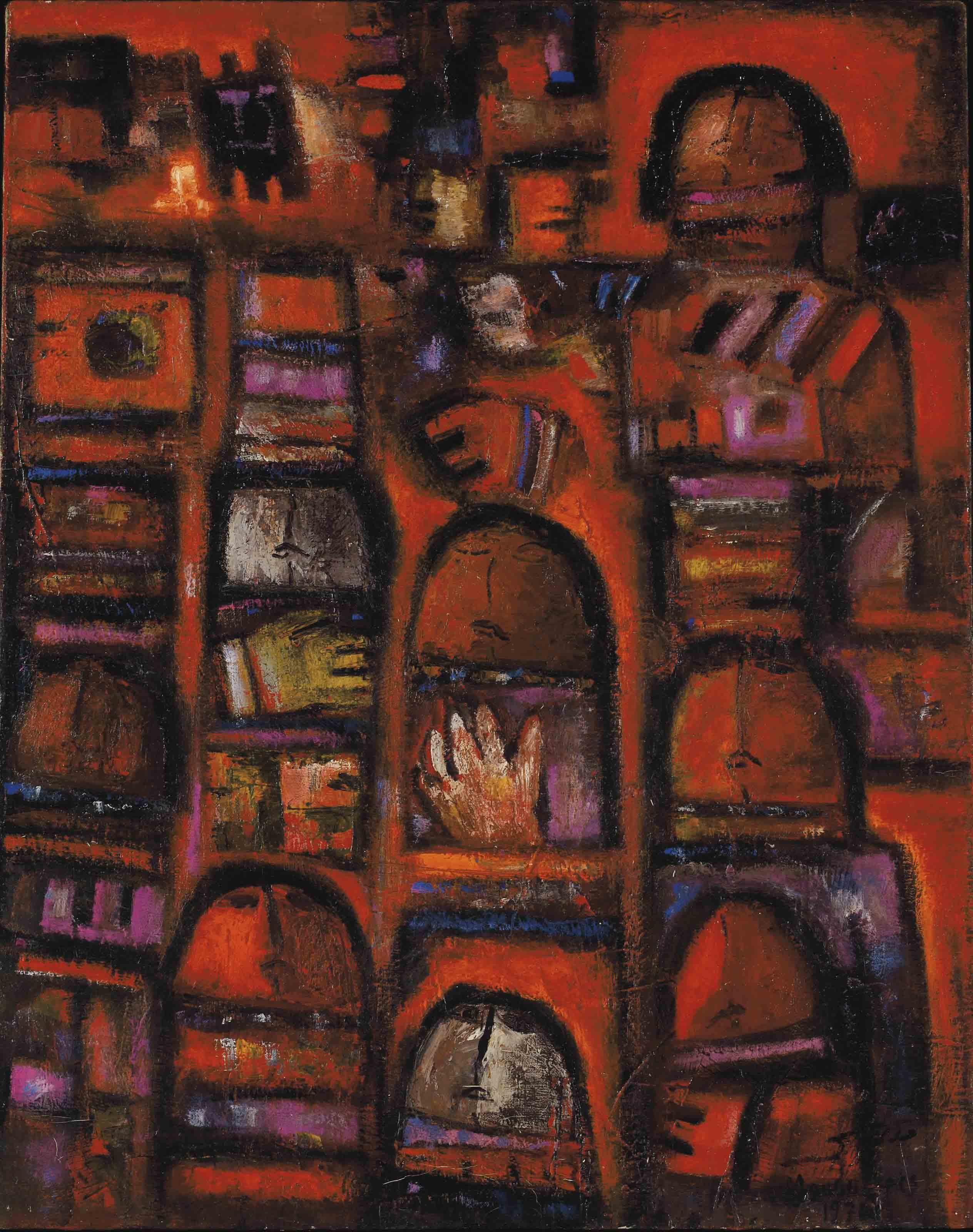 Fateh Moudarres (Syrian, 1922-