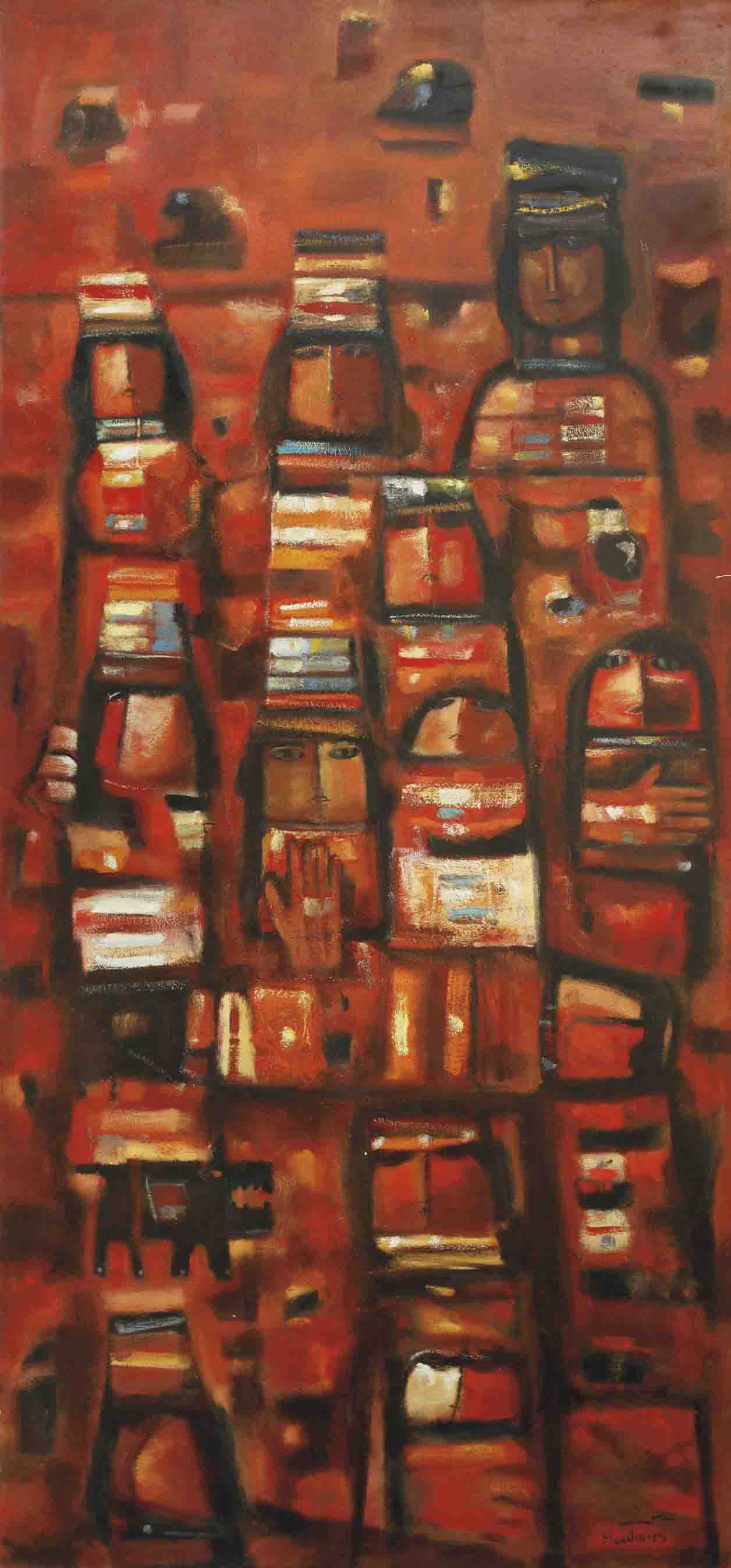 Nour Al-Ahmar Wa Naruhu (Red light and its fire)
