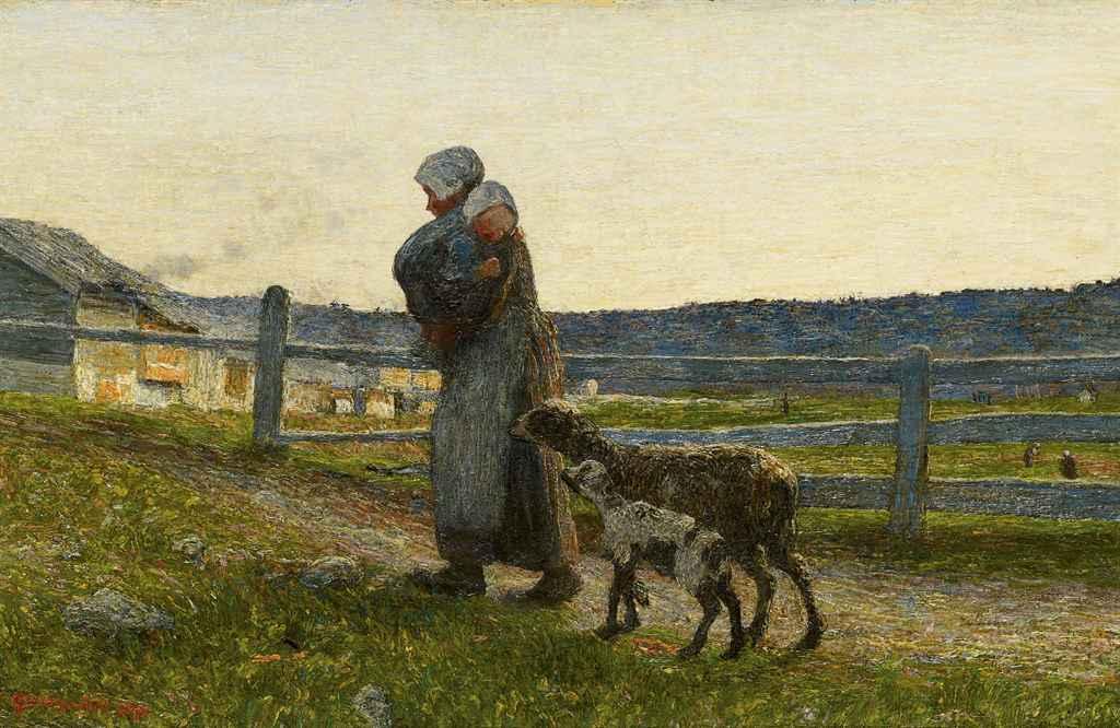 Le due madri, 1891